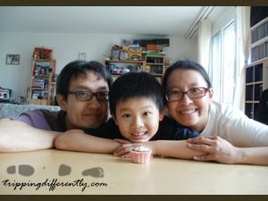 Daddy, Son, Mummy... i love...