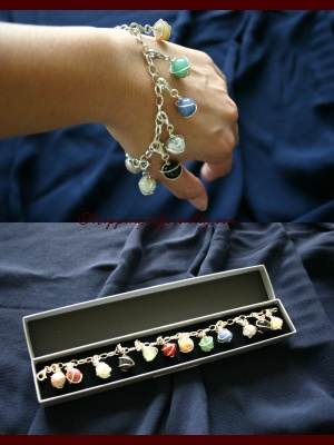 A chance to win a Semi-Precious Stones Bracelet. Worth estimated at CHF 60/.