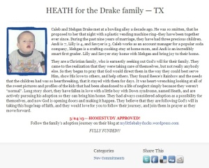 The Drake family are coming for Heath! Hurray!