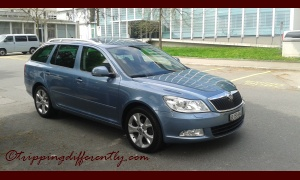 It is an Škoda Octavia Combi, about 3 years old.