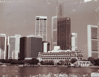 This is Singapore's Skyline when i was growing up. Credit: GolferToAxis on Photobucket