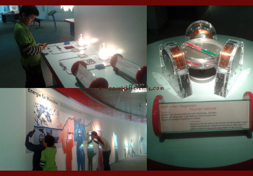 Some of the exhibits dealt with actual production of energy. Others tells you what and how much energy we consume.