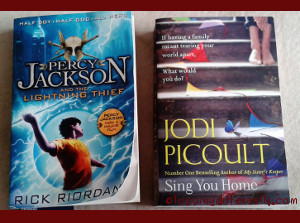 The Boy's and Mummy's reading pleasures in September :)