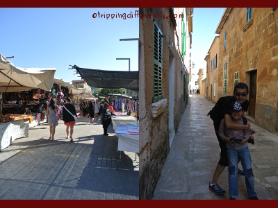 The market sold the usual scraves and handmade items, cheap watches and clothing, as well as wonderful local produce...