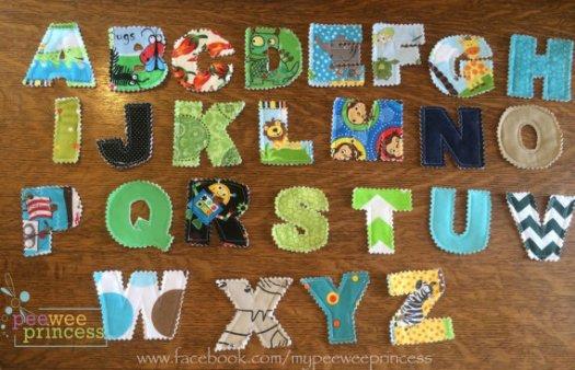 alphabetcloth
