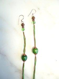 greenbrownearrings