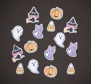 halloweenstickerset