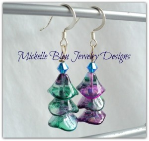 Peacock_christmastree_earrings