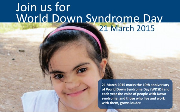 worldDownSyndromeDay2015