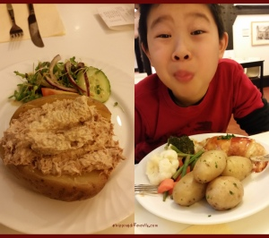 Tobias loved his lunch but could not finish it. Can you guess how cheap it was, compared to Switzerland?