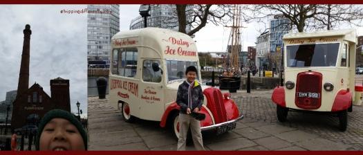 Saw more vintage ice cream trucks!