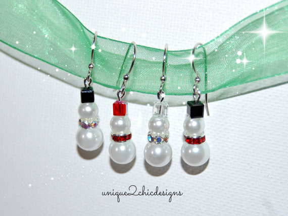 snowmanearrings