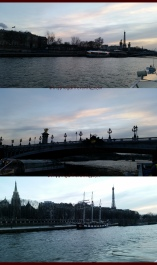 All the lovely views from our evening river cruise.