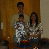 Tobias' 1st Birthday