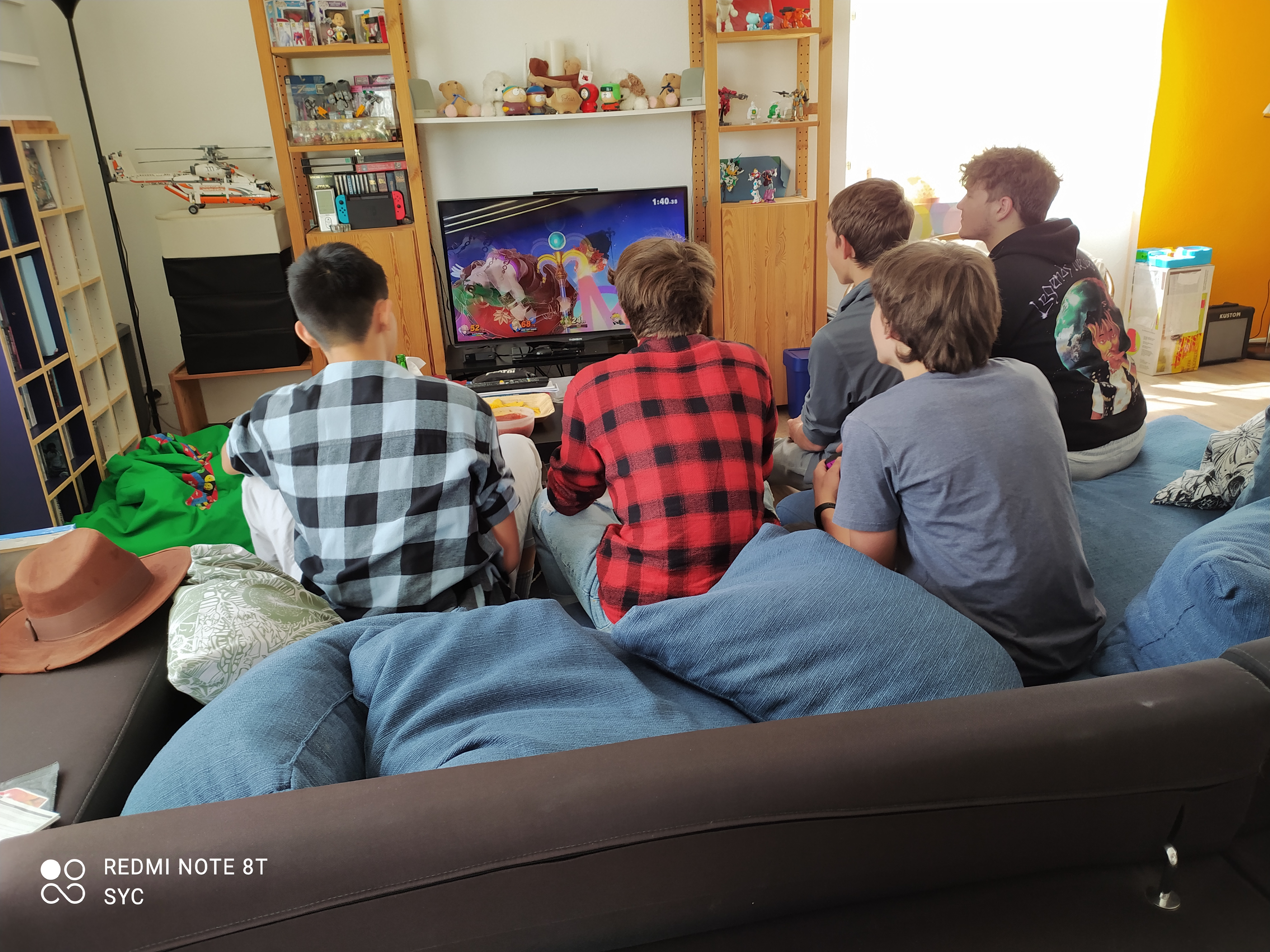Gaming with friends